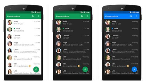 messaging apps for android the 10 best messaging app for android smartphones and tablets 2017