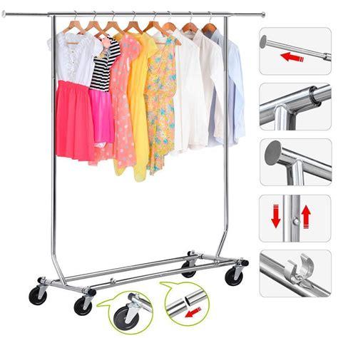 Heavy Duty Garment Closet by Heavy Duty Coat Rack Laundry Organizer Garment Rolling