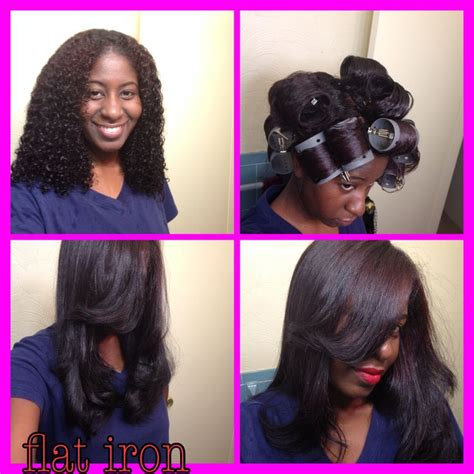 black women wash and set hairstyles hair roller set short hairstyles for black women short