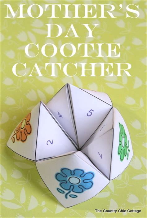 something for s day s day cootie catcher free printable the country