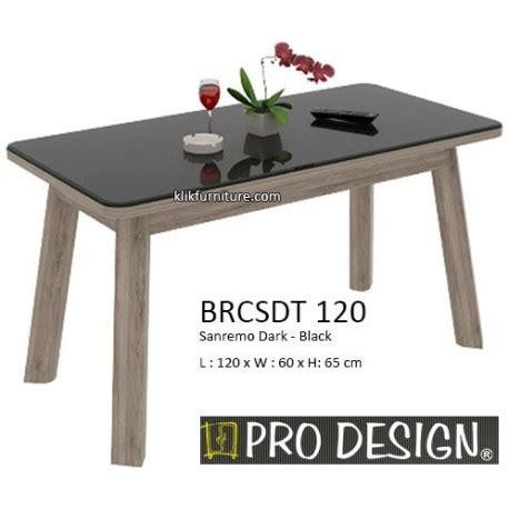 Meja Makan Pro Design harga meja dining minimalis brcsdt 120 prodesign