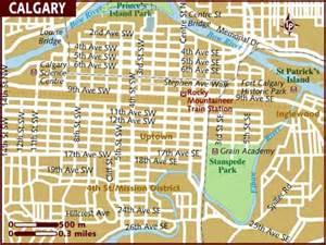 calgary canada map of america map of calgary
