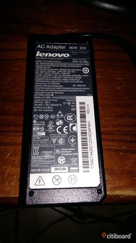 Ac Adaptor Lenovo 20v 4 5a data pc laddare ac adapter lenovo 90w 20v 4 5a