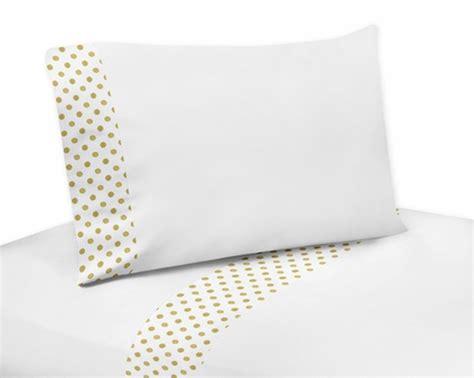 gold polka dot bedding 4 pc gold and white polka dot queen sheet set for amelia