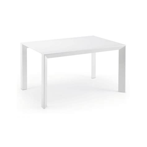 White Gloss Extendable Dining Table Dining Table 90 140 Extendable High Gloss White Msa2015013 Newport By La Forma