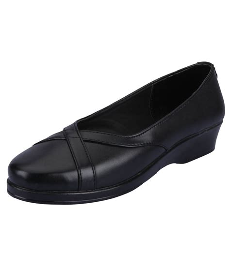 black wedges formal shoes for price in india