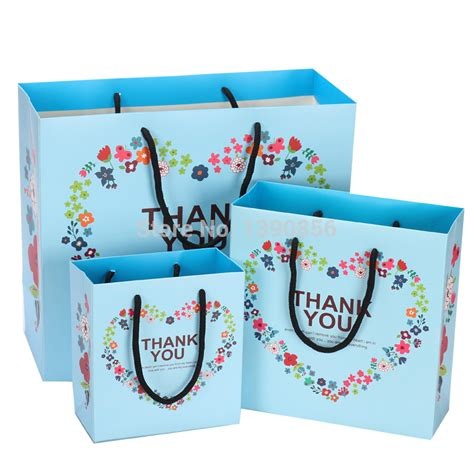 bulk paper gift bags with handles 2015 wholesale antistatic fashion gift packaging bags small paper bag packaging brand gift bags