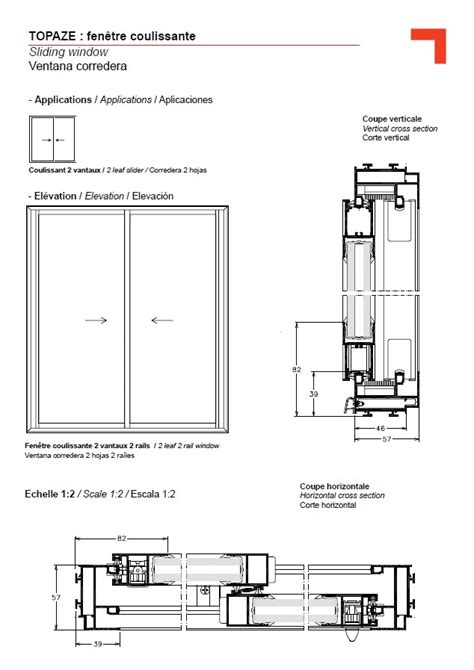 Section Of A Window by Gb Sliding Window