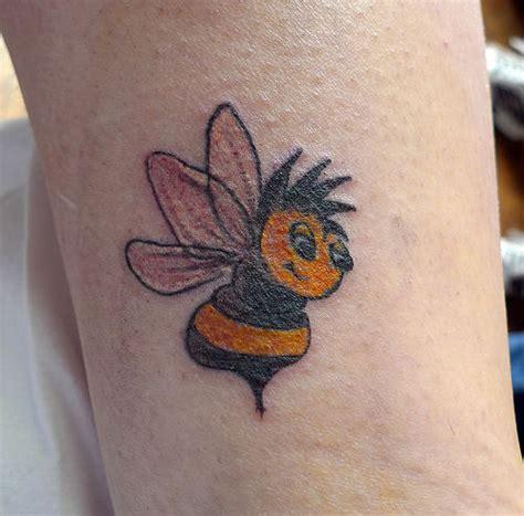 cartoon bumble bee tattoo small bumble bee tattoo