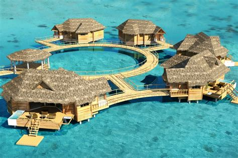 sandals south coast opens booking on overwater bungalows 5 overwater bungalows to open at sandals royal caribbean