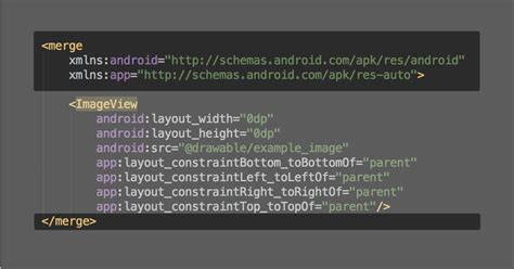 android layout xml merge android dev tip 5 androidpub