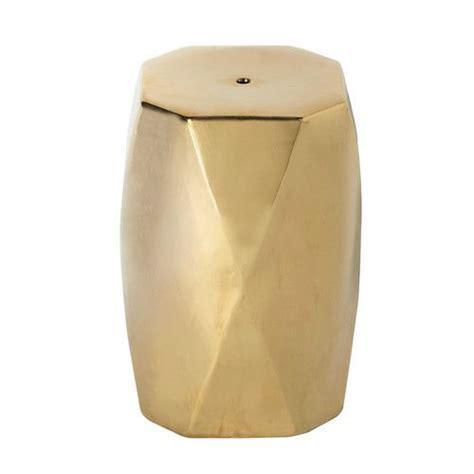sgabelli maison du monde tabouret en cramique dor h cm diamant with tabouret metal