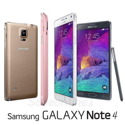 4 samsung galaxy samsung galaxy note 4 iv sm n910c factory unlocked 5 7 quot qhd you color ebay