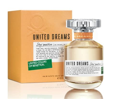 Original Parfum Benetton Stay Positive united dreams stay positive benetton parfum un parfum