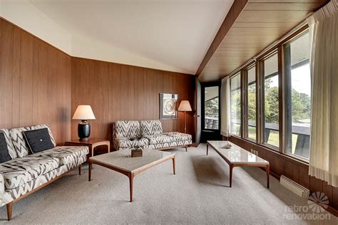 danish living room stunning spectacular 1961 mid century modern time capsule house in minnesota 66 photos