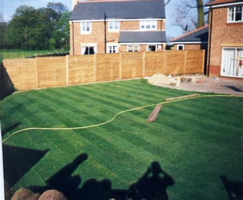 Garden Design And Build By Crown Lawns Hull Turf New Build Garden Ideas