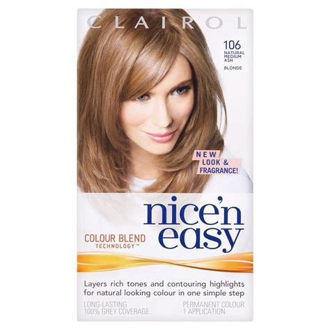 clairol colors clairol n easy permanent hair colour all colours