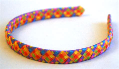 How To Make A Headband Out Of Paper - braided headbands wendy s origami