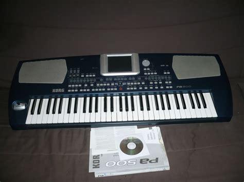 Keyboard Korg Pa 500 korg pa500 image 591680 audiofanzine