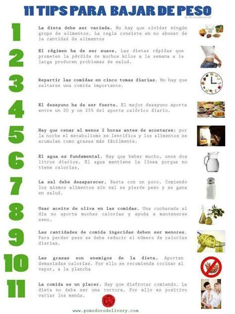 nutricion y peso optimo tips para bajar de peso nutrici 243 n y salud yg