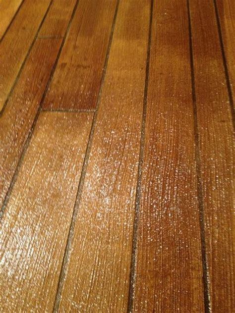 Wood Flooring On Concrete by Concrete Floors That Look Like Wood