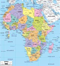 Africa Map Capitals by Maps Of Africa And African Countries Political Maps