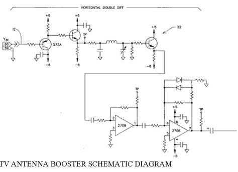 cmmt 382 tv elias tv antenna booster schematic