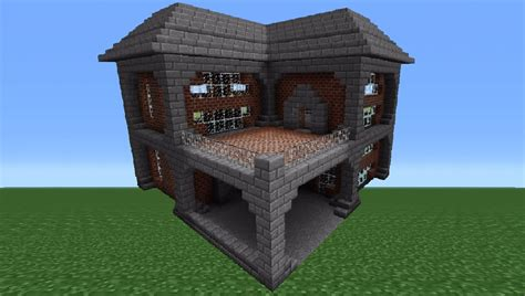 minecraft brick house minecraft tutorial brick house 1 youtube