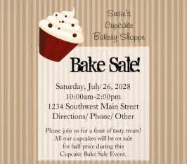 bake sale flyer template free bake sale flyer 8 free and premium