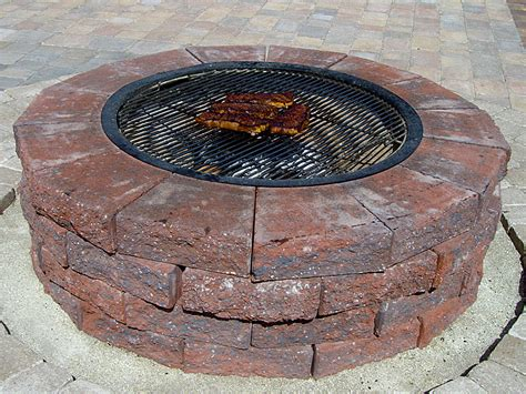 diy pit from gas grill fabulous diy pit cooking grate garden landscape