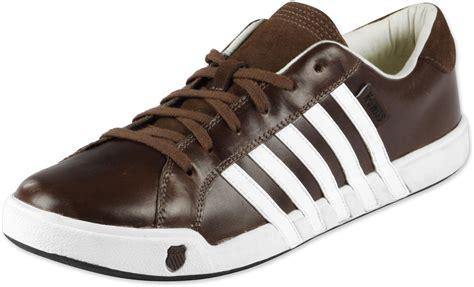 k swiss newport ii shoes brown