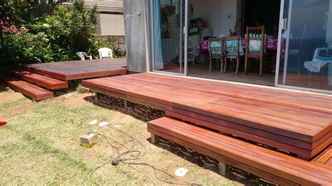 wooden deck wooden decks durban bluff the wood joint
