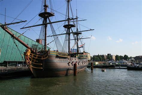 scheepvaartmuseum schip gratis foto amsterdam boot schip oude gratis