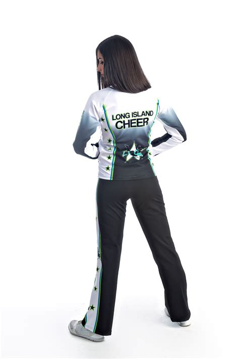 design cheer jacket custom sublimated active pro jacket in style cheer dance