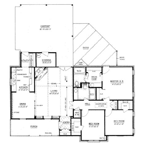 1400 square feet house plans country style house plan 3 beds 2 00 baths 1400 sq ft