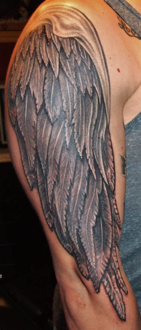 tattoo angel wings sleeve wings tattoo images designs