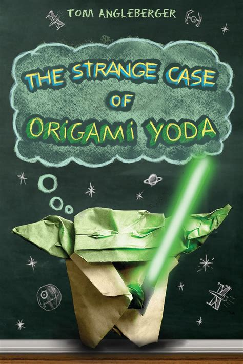 Origami Yoda Cover - mishaps and adventures evolution of the the strange