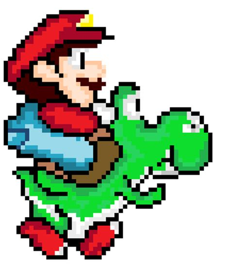 pixel character 6 yoshi by meowmixkitty on deviantart 8 bit mario riding yoshi by countvonbackward on deviantart