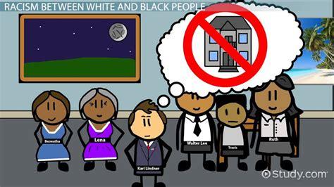 theme of racial discrimination in a raisin in the sun racism in a raisin in the sun video lesson transcript