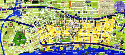 seattle map with attractions tourist map of seattle below is my favorite city tourist