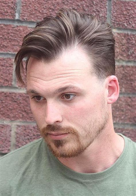 good hair style with widow peaks men 15 best haircuts for guys with round faces images on