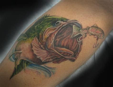 fishing lure tattoo designs 12 fishing tattoos that will make your jaw drop