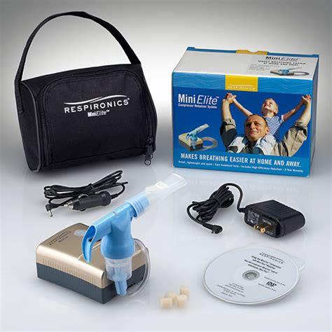 respironics mini elite compressor nebulizer systems