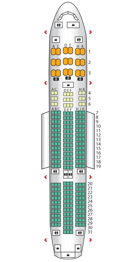 787 seating chart lot airlines seatguru seat map latam
