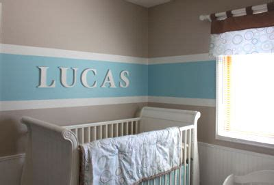 Blue And Brown Nursery Decorating Ideas by Blue And Brown Baby Nursery That S Quot All Boy Quot For Lucas
