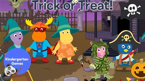 the backyardigans halloween trick or treat youtube
