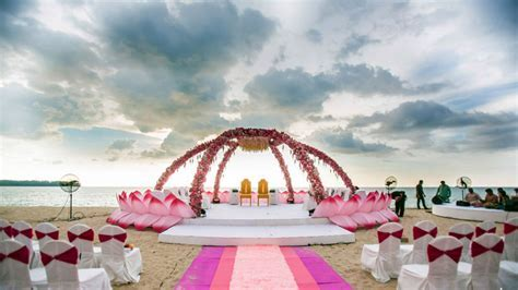 Best Beach Destination Wedding Venues in India