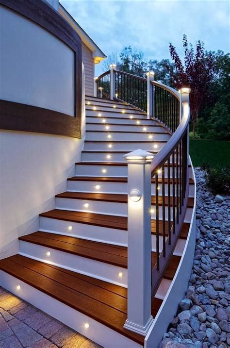 Outdoor Lighting Stairs 96 Best Steps For Backyard Hill Images On Outdoor Ideas Patio Ideas And Back Yard