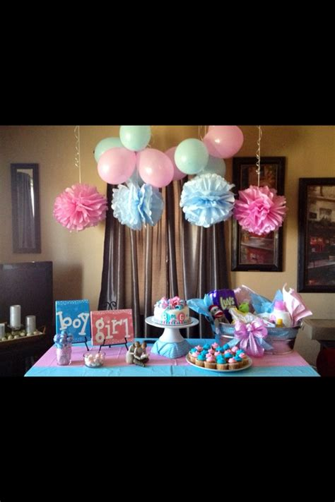 Gender Reveal Decorations by Gender Reveal Ideas The Pursuit Of Pregnancy