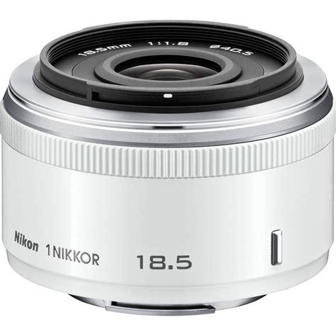 Lensa White Nikon nikon 1 nikkor 18 5mm f 1 8 lens white 3324 b h photo